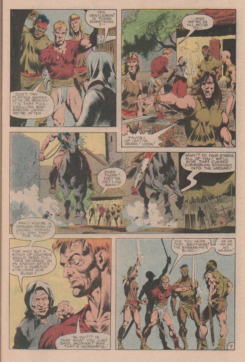 Conan the Barbarian (1970) Issue #160 #172 - English 10
