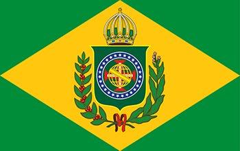 Bandeira Imperial do Brasil - CLIQUE NA BANDEIRA E VISITE O SITE DA CASA IMPERIAL DO BRASIL