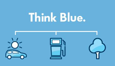 Think Blue de Volkswagen