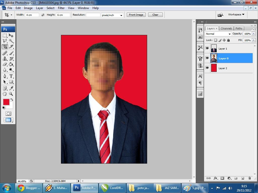 Cara Mengedit Foto Formal dengan Photoshop - #tukangketik