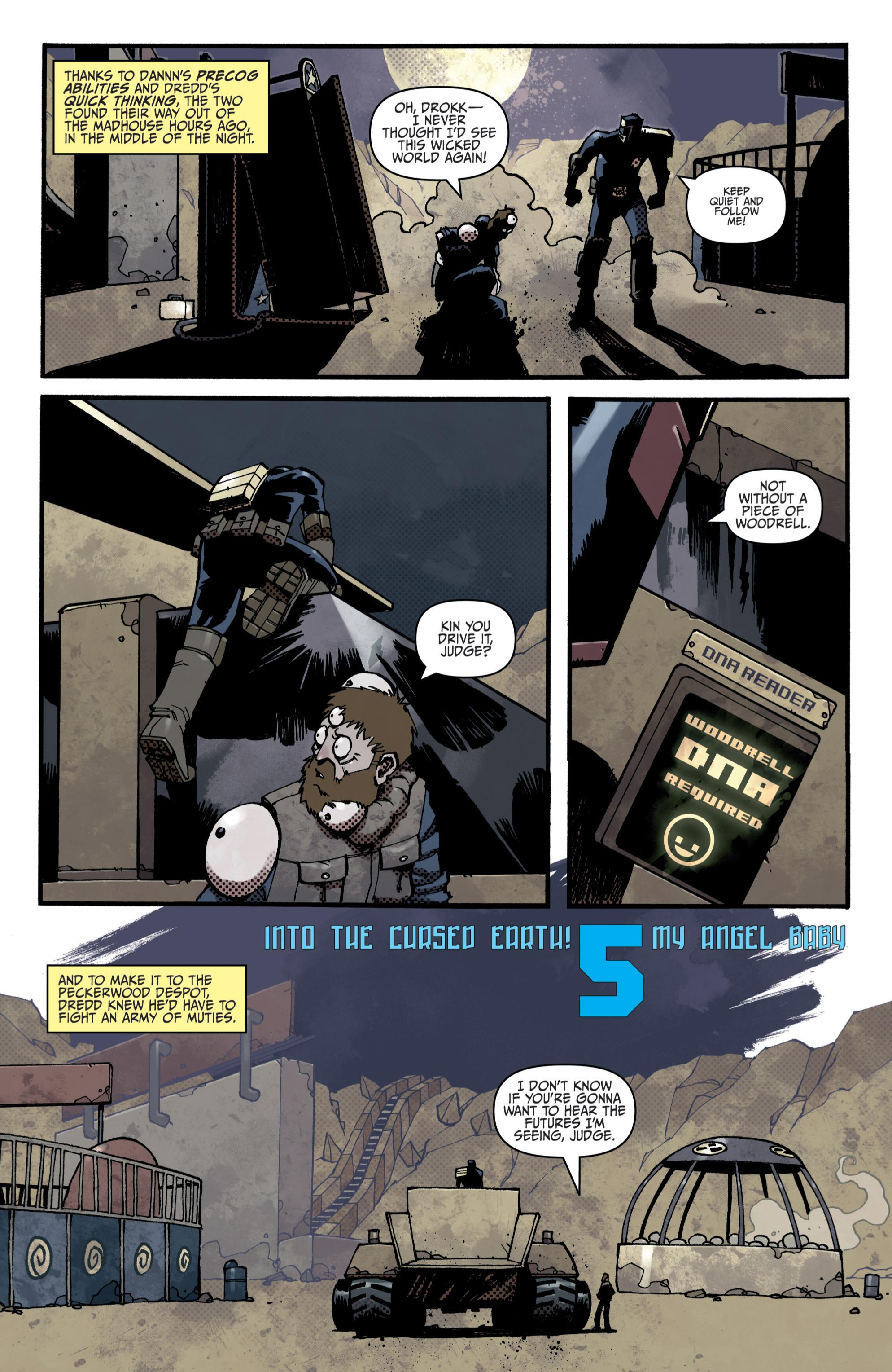 Read online Judge Dredd (2012) comic -  Issue # _TPB 3 - 34