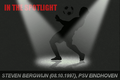 Steven Bergwijn of PSV in the spotlight