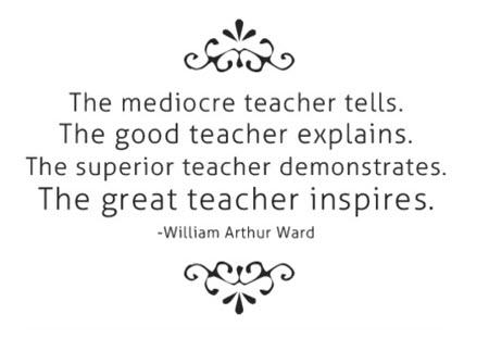 Sobre los maestros...