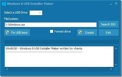 Windows 8 USB Installer Maker, windows 8, pendrive bootável, instalar windows 8 do pendrive