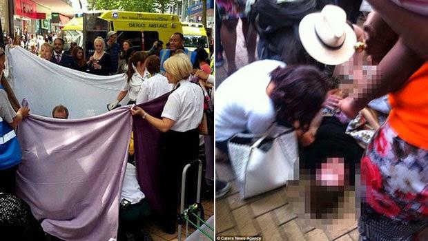 Ibu Muda ini Terpaksa Melahirkan di Mall dan Buat Heboh