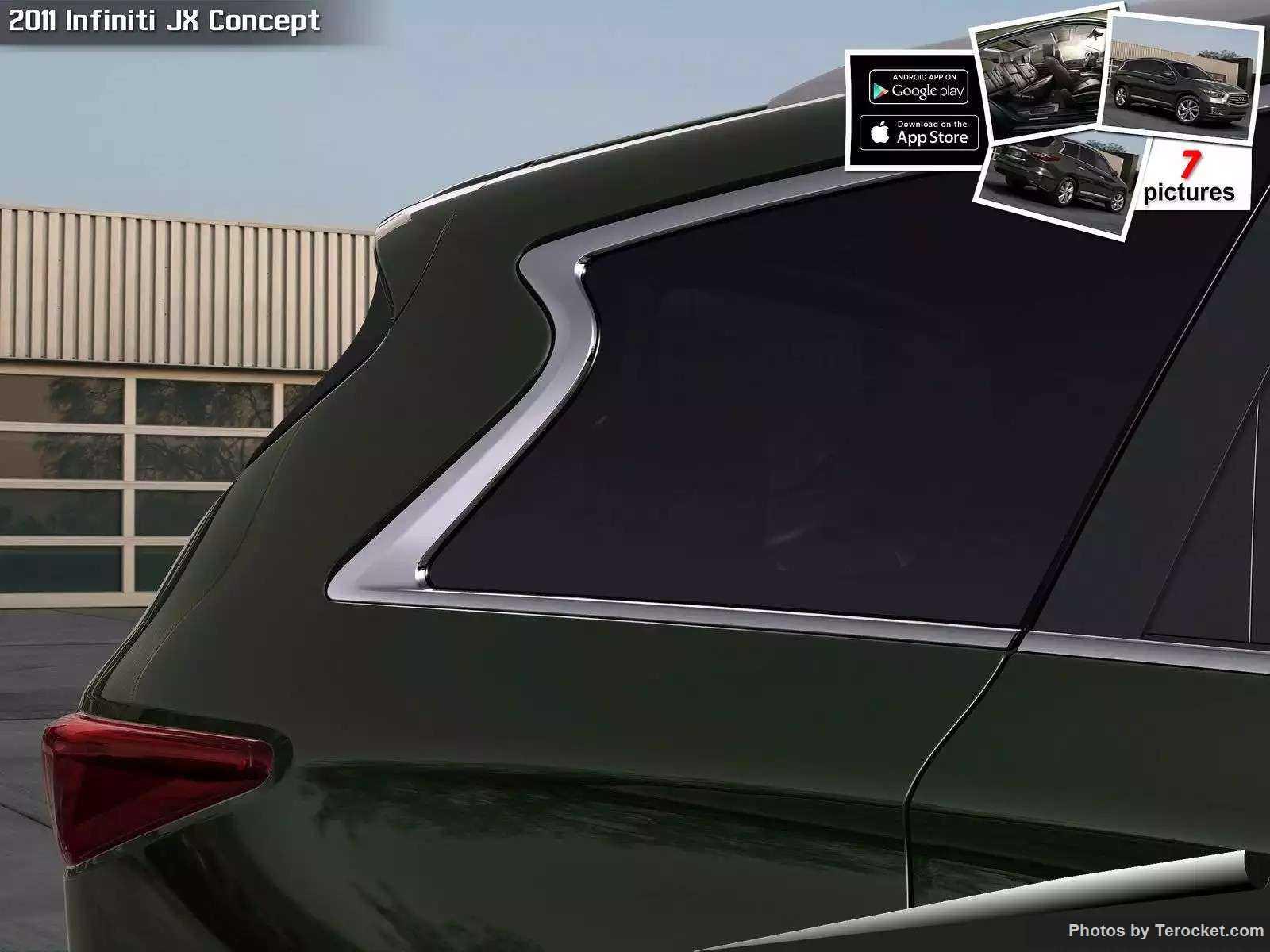 Hình ảnh xe ô tô Infiniti JX Concept 2011 & nội ngoại thất