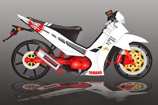 Modifikasi Motor Yamaha Vega R