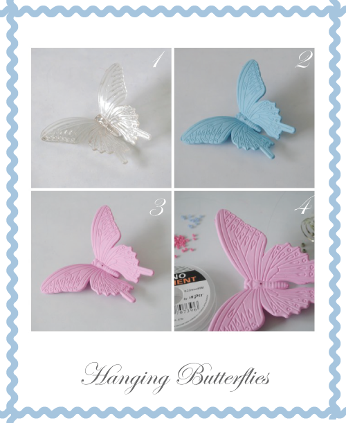 Easter Hanging Butterflies instructions