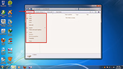 How to show hidden folder and files in windows 7 step6