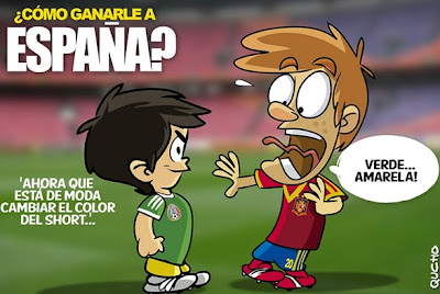 México no pudo con España