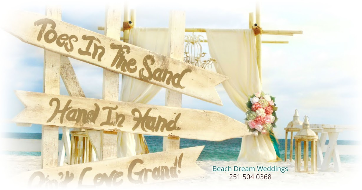 Beach Dream Weddings, LLC - 251.504.0368