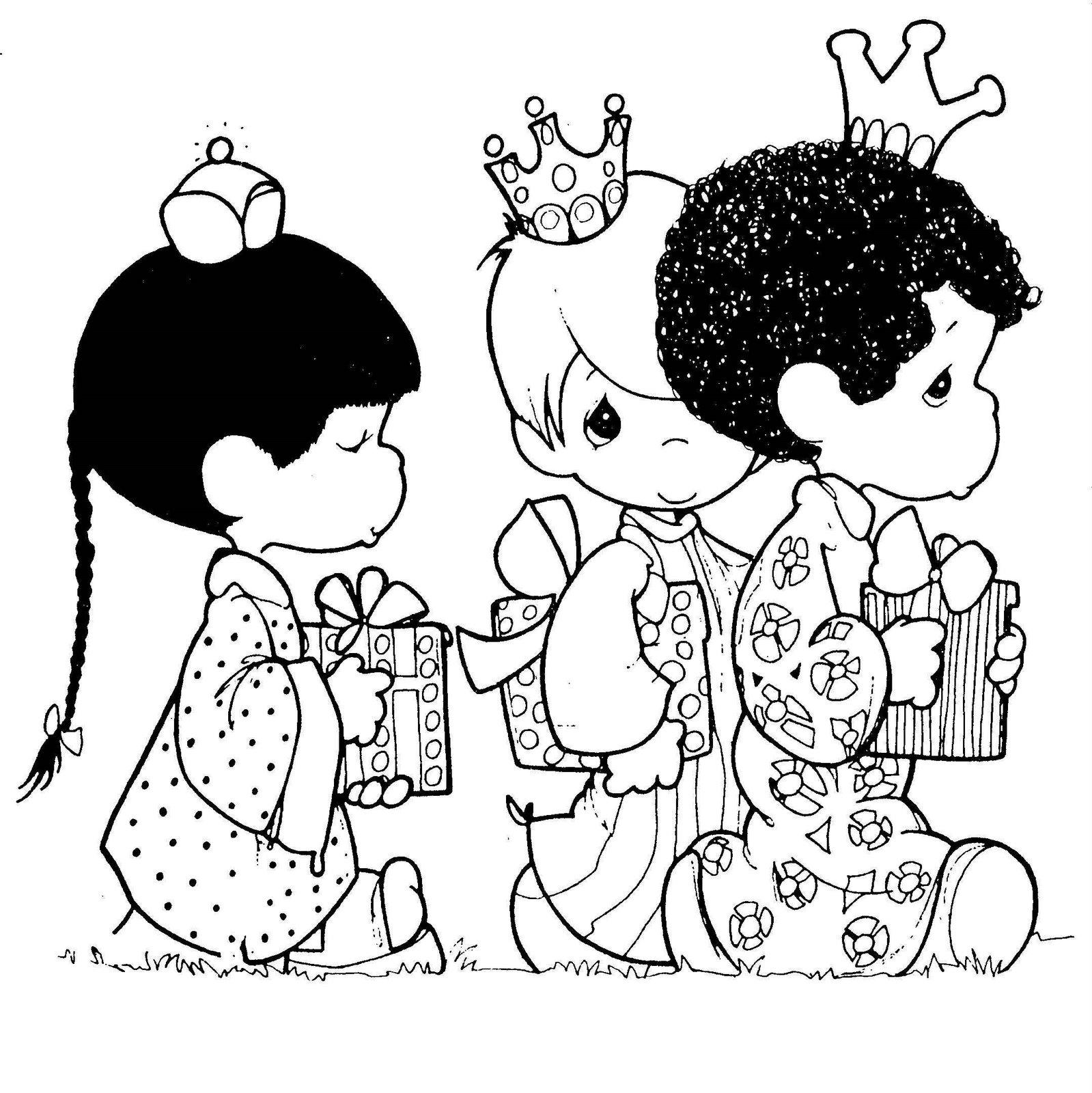 1599 x 1600 jpeg 363kB, Dibujo De Los Reyes Magos   New Calendar ...