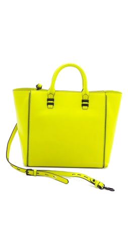 Fabulous Yellow Color Handbag