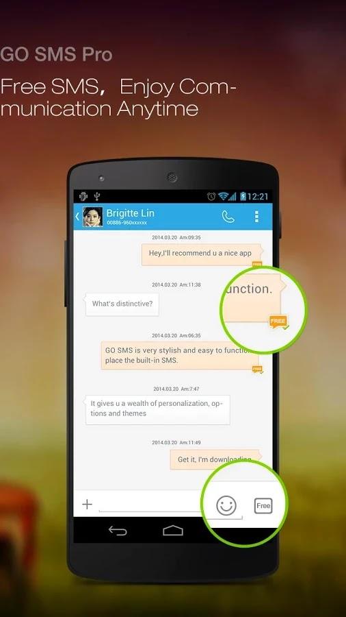 GO SMS Pro Premium v5.6 build 225