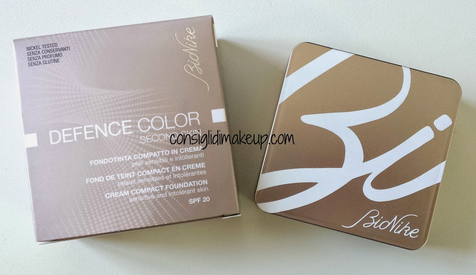 Review: Defence Color Second Skin - Bionike