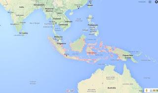Letak tetangga negeri kita Indonesia