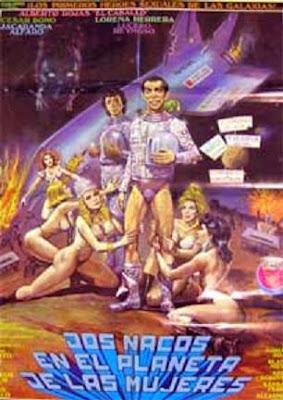 DOS NACOS EN EL PLANETA DE LAS MUJERES (1991) Ver online – Latino
