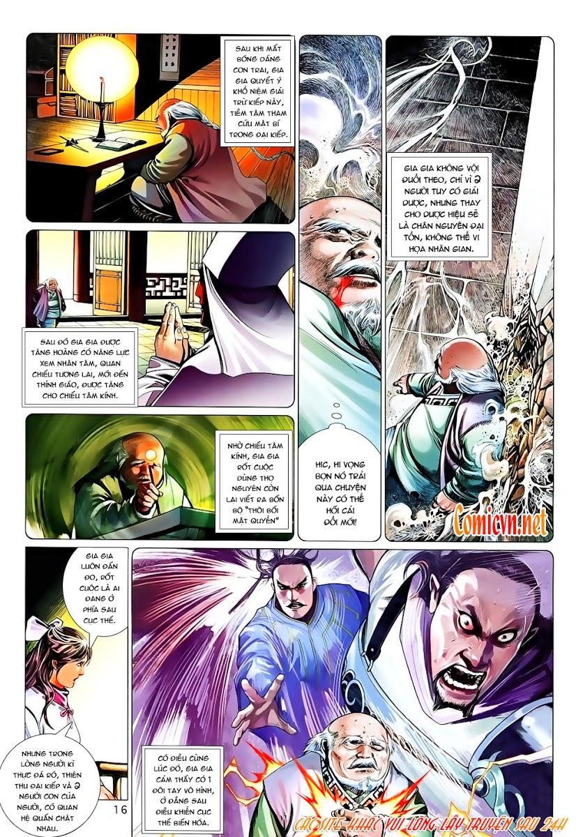 Phong Vân chap 642 Trang 16 - Mangak.info