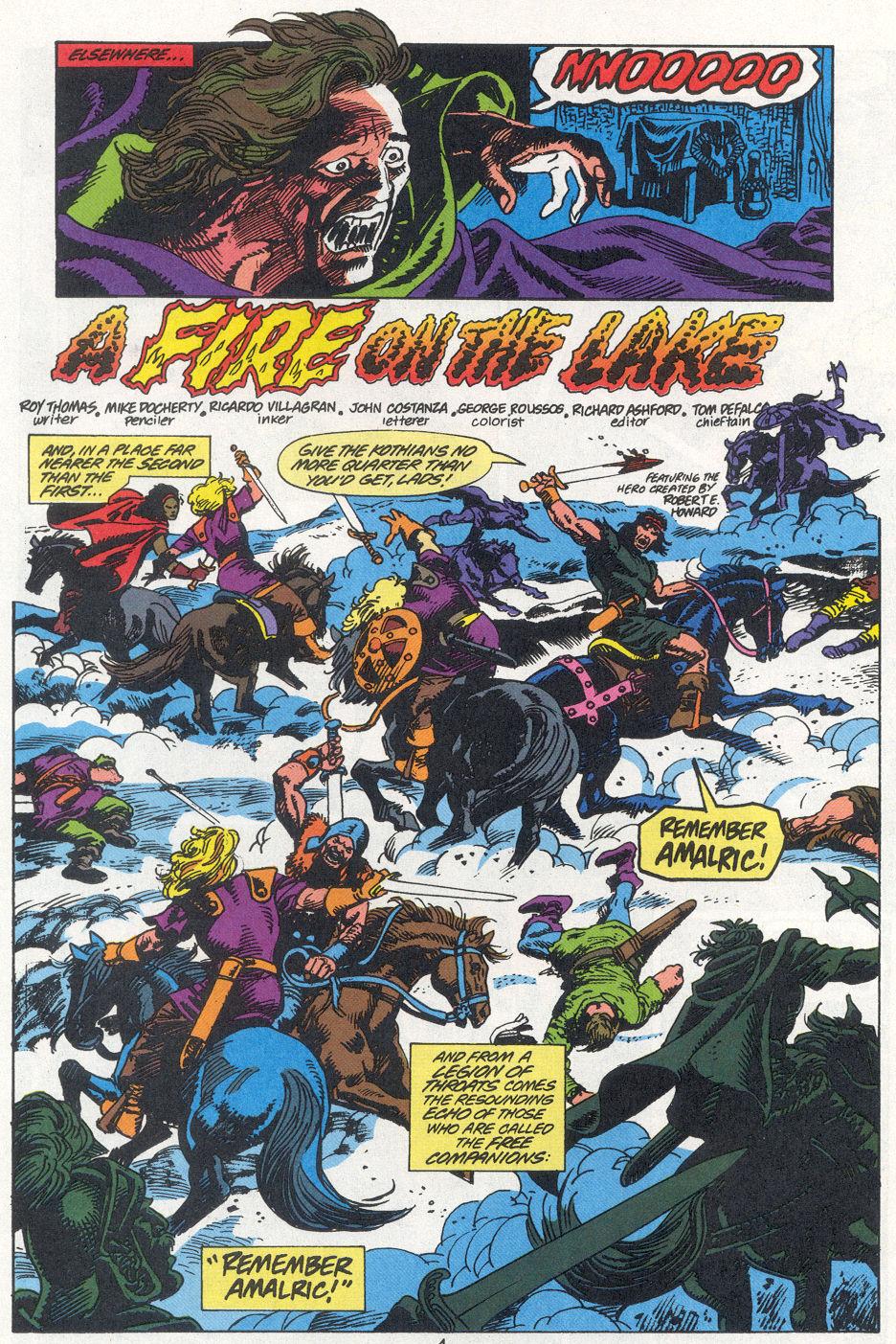 Conan the Barbarian (1970) Issue #270 #282 - English 4