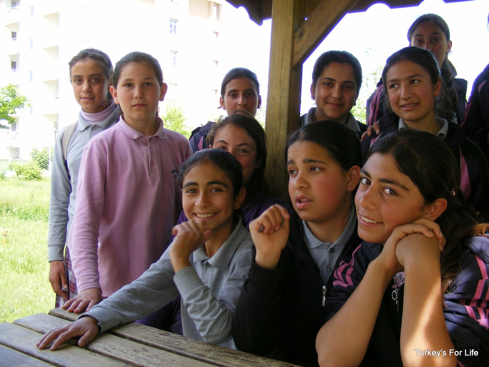 School Children In Doğansu, Ağrı, East Turkey