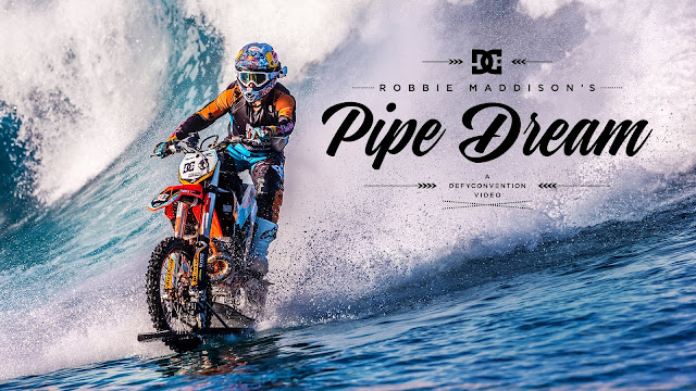 DC SHOES ROBBIE MADDISON S \ PIPE DREAM\
