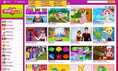 Didi Games Free online girl games at didigames.com