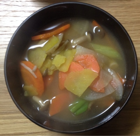 東京RUNNING ENGINEER: Kenchin Jiru Recipe (Traditional Japanese Soup ...