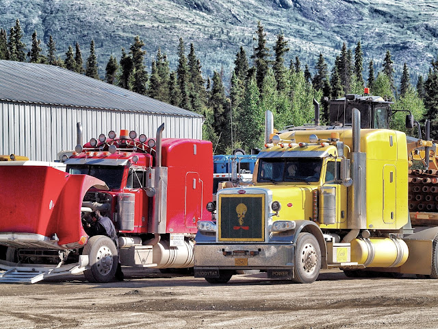 Ice Road Truckers, Coldfoot, Alaska, Summertime