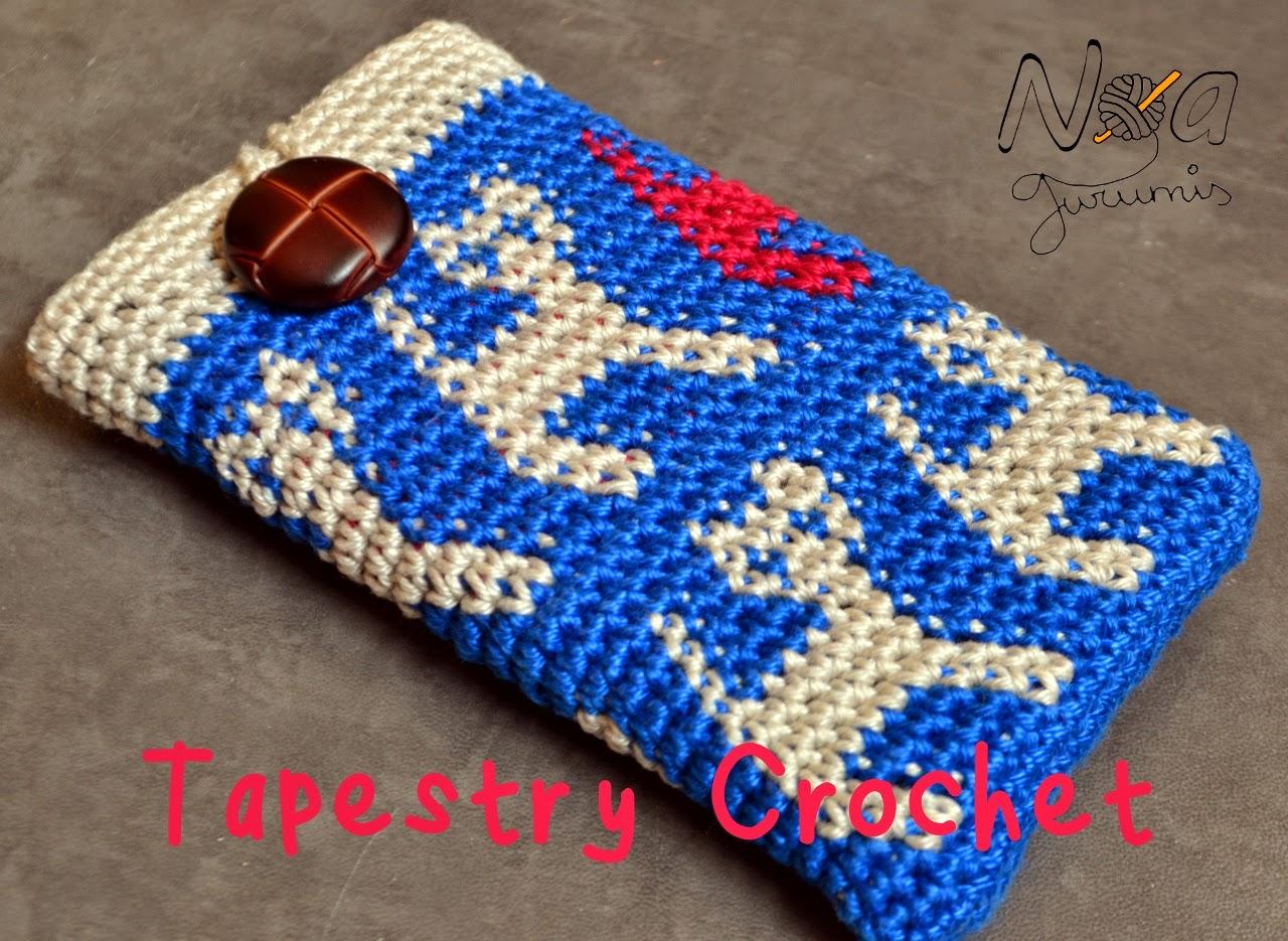 - Blog de ganchillo: Ganchillando: Tapestry o Jacquard Crochet