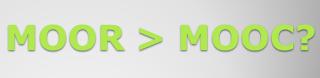 MOOR es una plataforma de acceso abierto de investigación y desarrollo o un programa de estudio de educación superior conducente a una participación ilimitada aprovechando internet.
