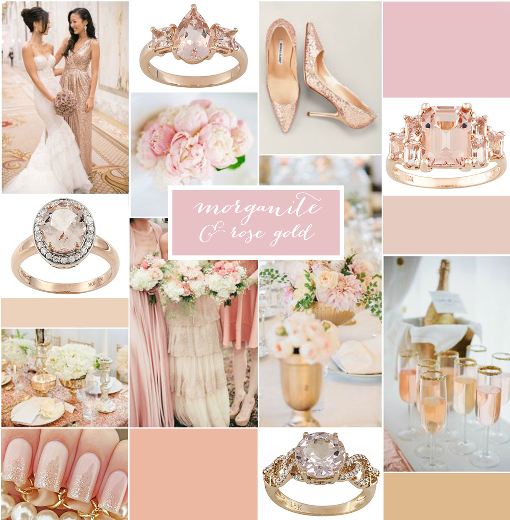 Morganite Rose Gold A Jewelry Giveaway