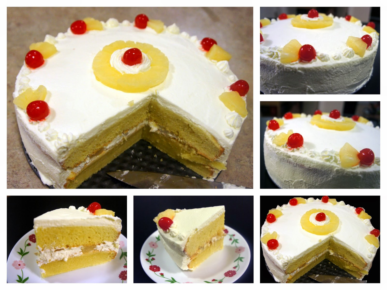 Just Homemade: Pineapple Layer Cake