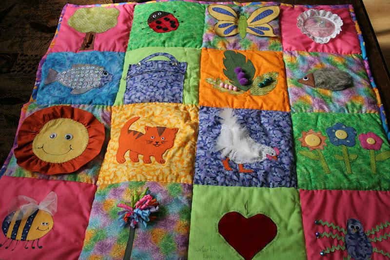 Сенсорный коврик для детей своими руками 15