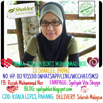 I'm Shaklee Independent Distributor
