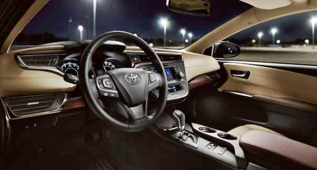 2017 toyota avalon xle specs performance toyota update for Toyota avalon interior dimensions