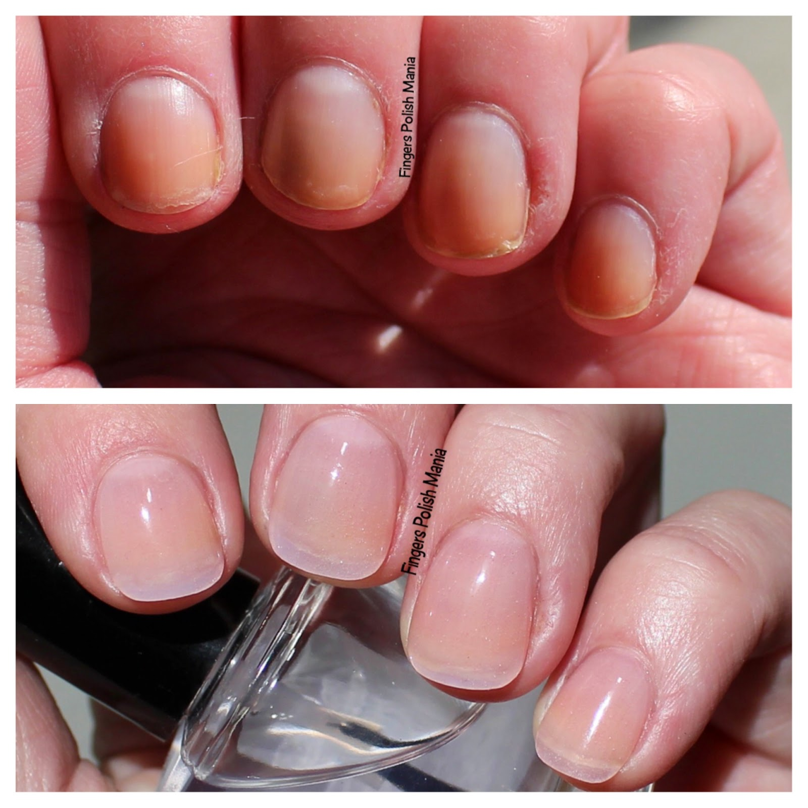 Sns Nails Before And After | Best Nail Designs 2018