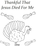 Turkey Coloring Page. Turkey Coloring Page for Sunday School or Children's .