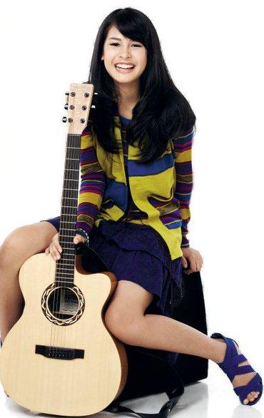 Maudy Ayunda Profil