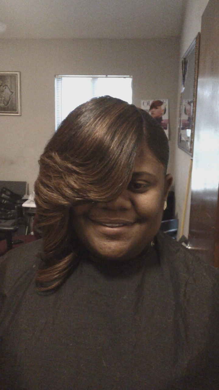 Layered Bob Hairstyles with Weave