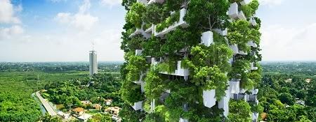 Departamentos con Jardines Verticales y Sistemas Sostenibles
