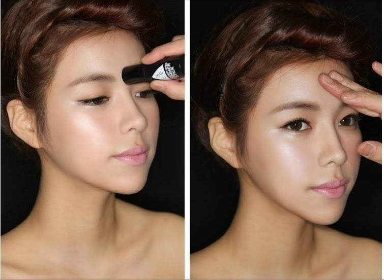 Korean Highlighter Makeup