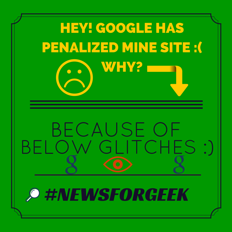 google penalty infographics