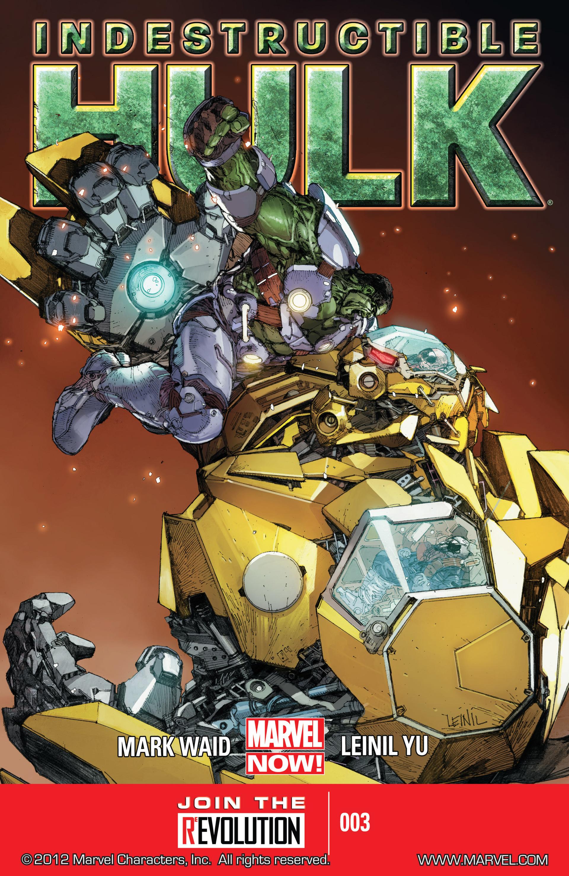 Indestructible Hulk 3 Page 1