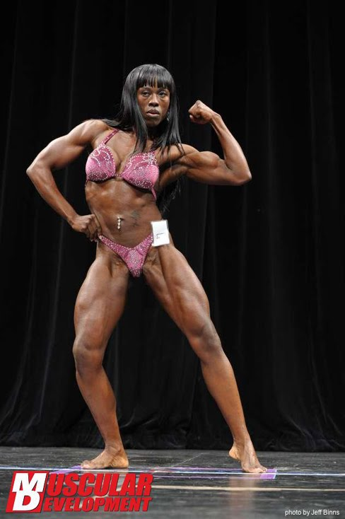 Dolly Lazarre Female Muscle Bodybuilder Blog