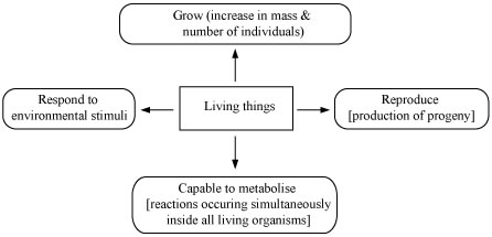 The Five Kingdom of Life and The Characteristics Of Living Things