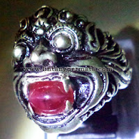 Batu Permata Langka Ruby Cat Eye