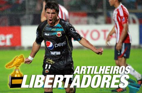 Artilheiros da Libertadores 2012
