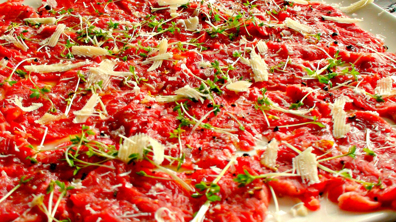 home made fresh carpaccio how to recipe