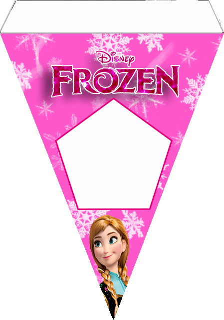 Frozen in Pink Free Printable Party Kit. | Oh My Fiesta ...