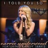 I Told You So - Carry Underwood (lyrics)